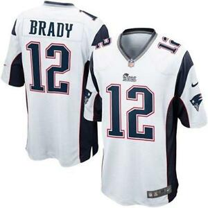 tom brady white jersey mens
