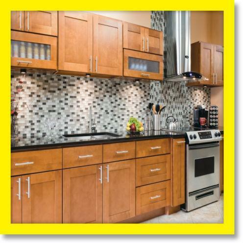 Maple kitchen cabinets ebay for Kitchen cabinets ebay