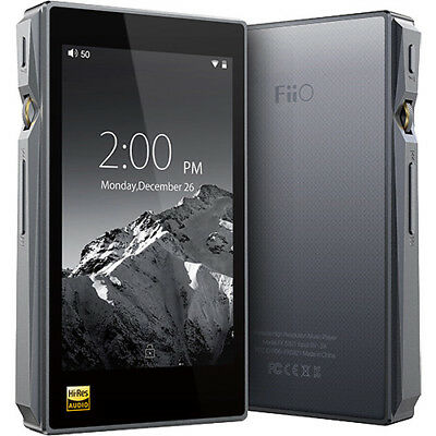 FiiO X5 (3RD GENERATION) Portable High-Resolution Audio Player (Black)
