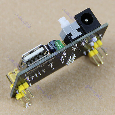 Mb102 Power Supply Module Shield 3.3v 5v Breadboard Solderless Bread Board New