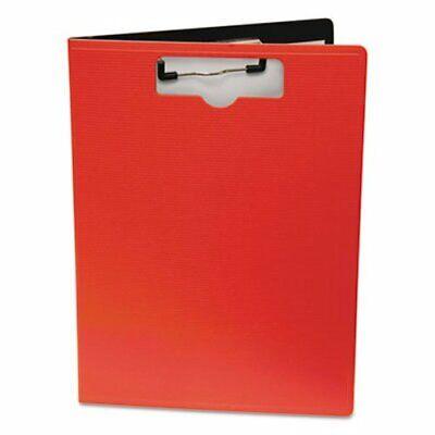 Portfolio Clipboard With Low-profile Clip 8 12 X 11 Red Bau61632