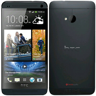 HTC One M7 32GB (Factory Unlocked) 4G LTE  Smartphone Black - N/O