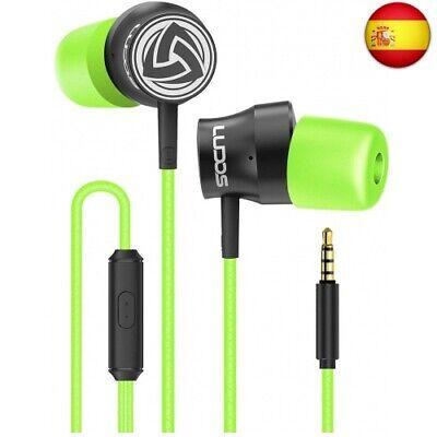 Auriculares-Micrófono-Cascos-Cable-Alambricos, LUDOS Turbo Auriculares con