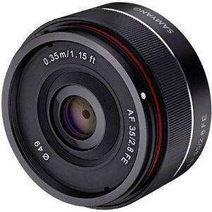Samyang SYIO35AF-E 35mm f/2.8 Ultra Compact Wide Angle Lens