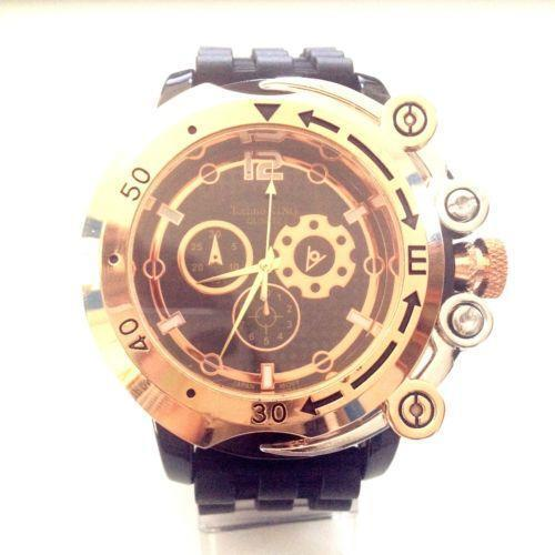 Big face hip hop watch ebay for Rapper watches