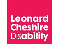 Support Workers/Care Assistant/Care/ Leonard Cheshire Disability