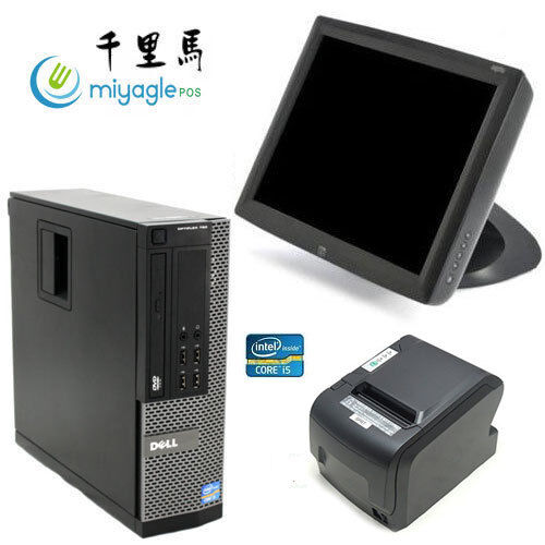 """15"""" Point of Sale System POS All in One Touchscreen Restaurant Dell i5 ELO"""