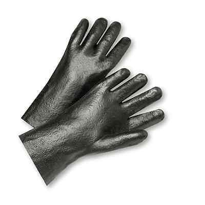 Westchester Pvc Interlock 12 Safety Work Glove - Black