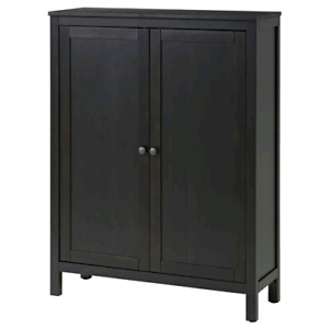 IKEA HEMNES BLACK/ BROWN CABINET $130.00
