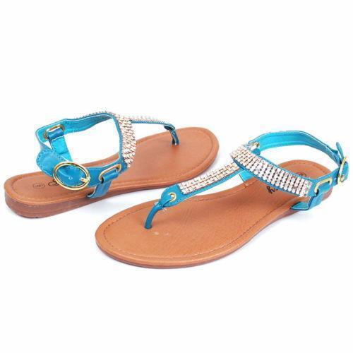 Womens Navy Blue Sandals | eBay