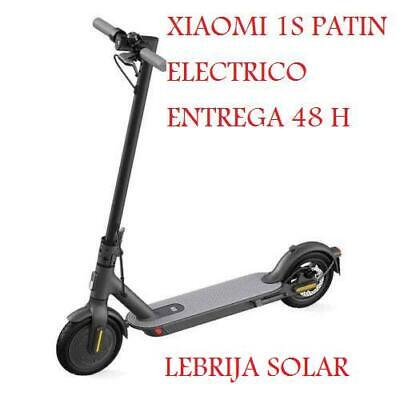 PATINETE ELECTRICO XIAOMI MI 1S SCOOTER NEGRO VELOCIDAD 25KM/H AUTONOMIA 30KM