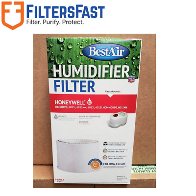 BestAir HW14 Humidifier Filter For Honeywell Quietcare HCM60