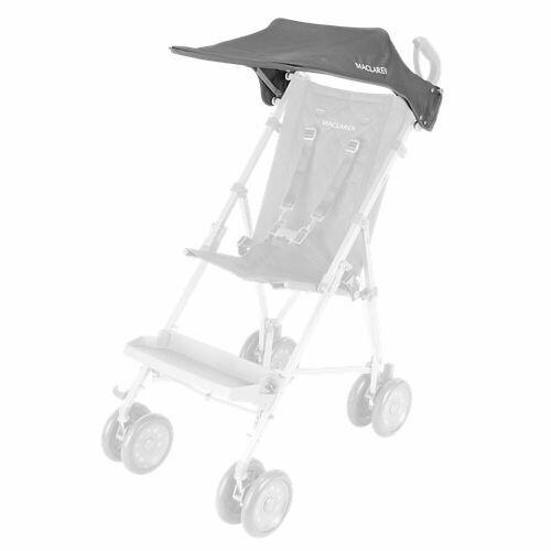 Maclaren Major Hood Charcoal for Special Needs Transport Chair UPF 50+ Open Box