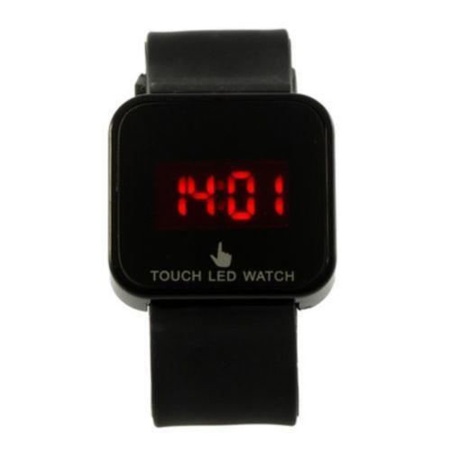 led touch screen watch ebay. Black Bedroom Furniture Sets. Home Design Ideas
