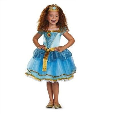 Disney Brave Merida Tutu Prestige Girls Costume, 4-6X - Brave Merida Dress