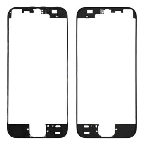 Apple iPhone 5S Front Middle Frame Bezel Screen LCD Holder With Hot Glue Black