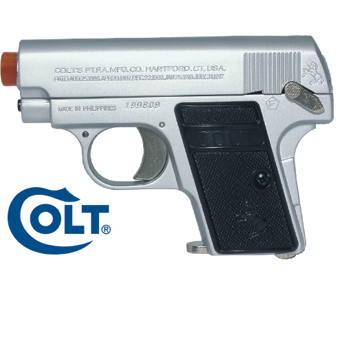 Colt 25 Silver Spin-up Power Series FPS 141 Spring Airsoft P