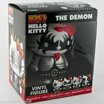 Kiss Hello Kitty Kiss the Demon Vinyl Figure New and Boxed