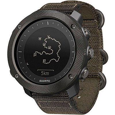 Suunto Traverse Alpha Foliage GPS Military Outdoor Watch SS022292000