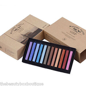 HAIR CHALK TEMPORARY HAIR DYE COLOUR SOFT PASTELS SALON KIT 1/6/12/24/36/48