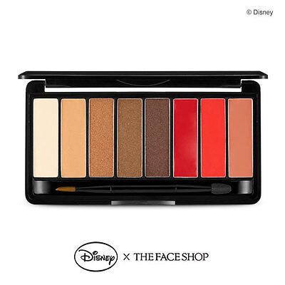 Ship By Usps   The Face Shop   X Disney Mono Pop Eyes  01 Mickey Limited 9 5G