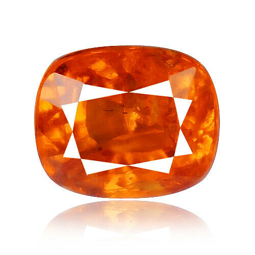 Spessartine Garnet 4.90ct aaa fanta orange color 100%natural earth mined Namibia