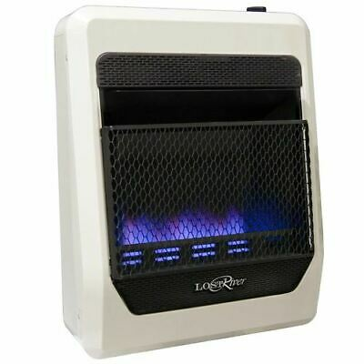 Blue Flame Natural Gas Heater - Lost River Natural Gas Ventless Blue Flame Gas Space Heater - 20,000 BTU