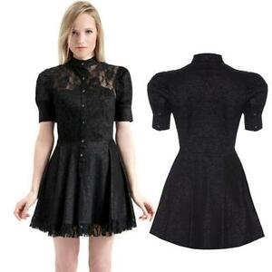 Black Punk Dress