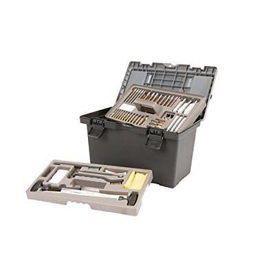 NEW Allen Company Tool Box Style Gun Cleaning Kit 65 Piece Set Black Grey