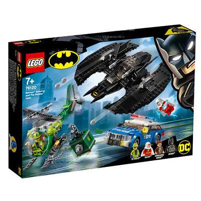 er Heroes 76120 Batman™: Batwing und der Riddler™-Überfall (Der Riddler Dc Comics)