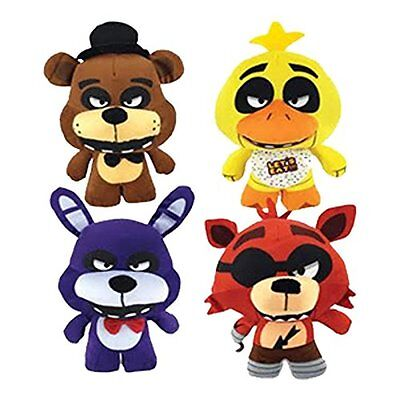 New Set Of 4 Five Nights At Freddys Plush 10    Good Stuff Brand Nwt  Fnaf 2017