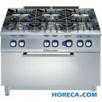 Electrolux gasfornuis - gas oven - 6-pits