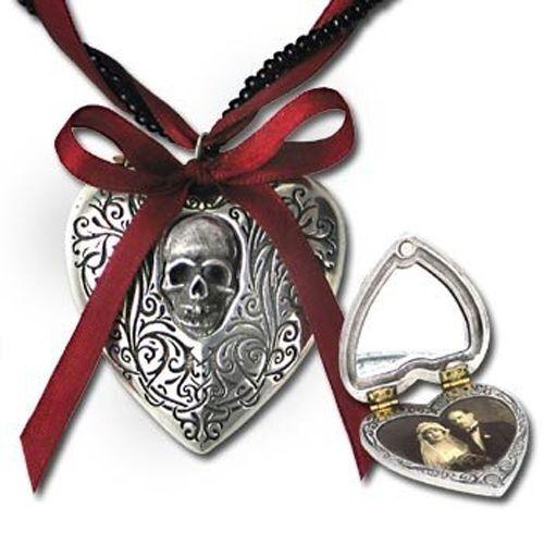 GENUINE Alchemy Gothic Pendant - The Reliquary Heart Locket | Ladies Necklace