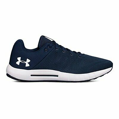 Under Armour Mens Micro G Low Top Lace Up Walking Shoes, Black, Size 10.0 yrz9