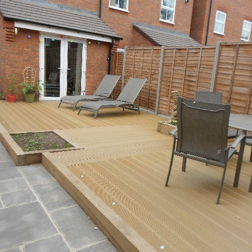 Pvc decking ebay for B and q timber decking
