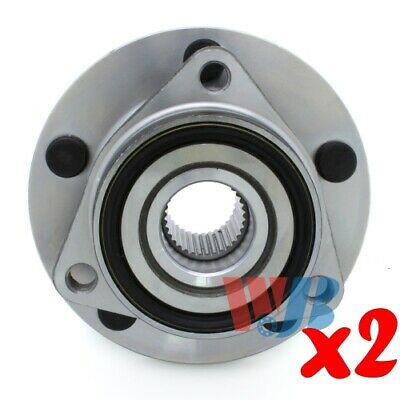 Pack of 2 Front Wheel Hub Bearing Assembly replace 515006 BR930256