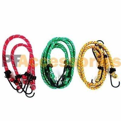 6 Pcs Bungee Cord Strap Heavy Duty Tarp Bungie Elastic Tie Down Set 10 12 18