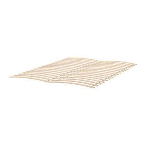 2 x IKEA Luroy slatted bed bases, like new; make Double