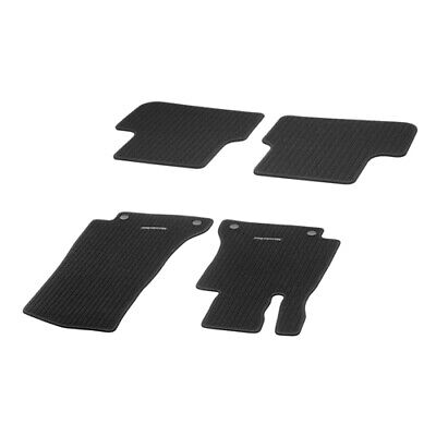 Original Mercedes Ripsmatten Fußmatten Satz vorne hinten schwarz GLA-Klasse X156