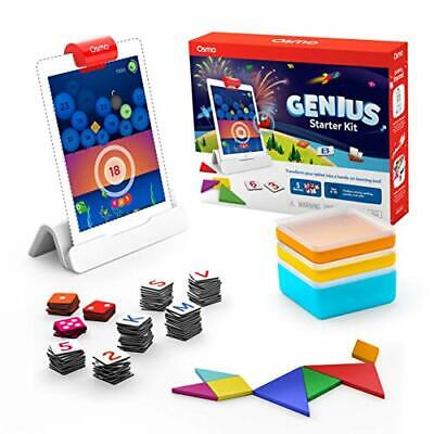 Osmo - Genius Starter Kit for iPad (New Version) - 5 Hands-On Learning Games