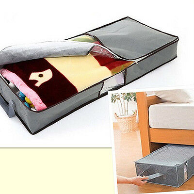 Clothes Duvet Clothing Pillow  Under Bed Handle Storage Organizer Bag Nimble