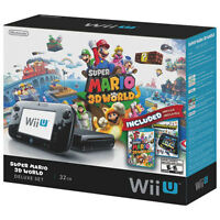 Wii U 32gb Deluxe Edition