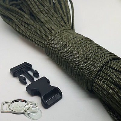 Make Paracord Bracelet (Paracord Bracelet Making Kit, With Paracord, Buckles & Metal Logo)