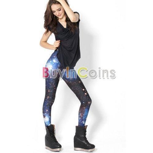 3e8d0dee24a5fc Printed Leggings | eBay