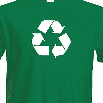 Recycle Symbol Environment Go Green Global Warming Mother Earth Day T Shirt