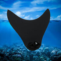 Uk Kids Mermaid Tails Swimming Diving Monofin Swimmable Fin Flippers Black - unbranded - ebay.co.uk