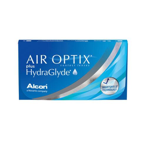 Ciba Vision - Alcon - Air Optix plus HydraGlyde Kontaktlinsen (1x6 Monatslinsen)