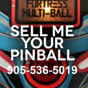 PINBALL MACHINES WORKING OR NOT ANY AGE OR COND WE ALSO REPAIR !