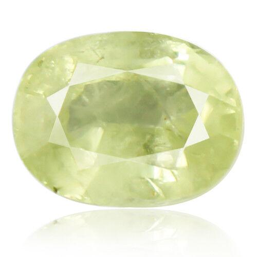 Tsavorite Family Garnet 5.41ct yellowish green color 100% natural earth mined