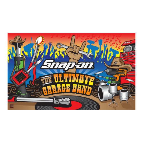 NEW!! Sealed!! Snap-On Tools Beach Towel GARAGEBAND Garage Band